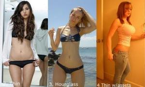body type 0 21 Tipe Badan Wanita