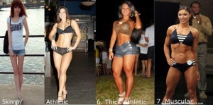 body type 8 21 Tipe Badan Wanita
